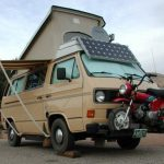 Campervan tow and auxiliary vehicles